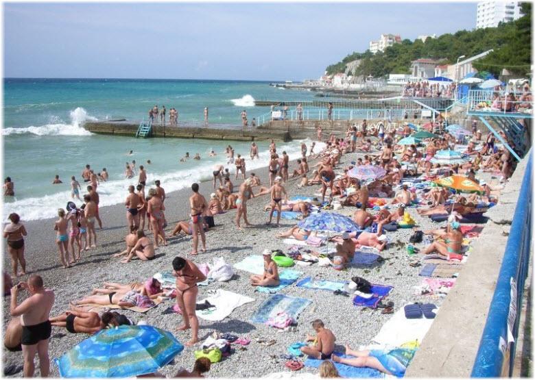 Пляж «Ясная поляна»