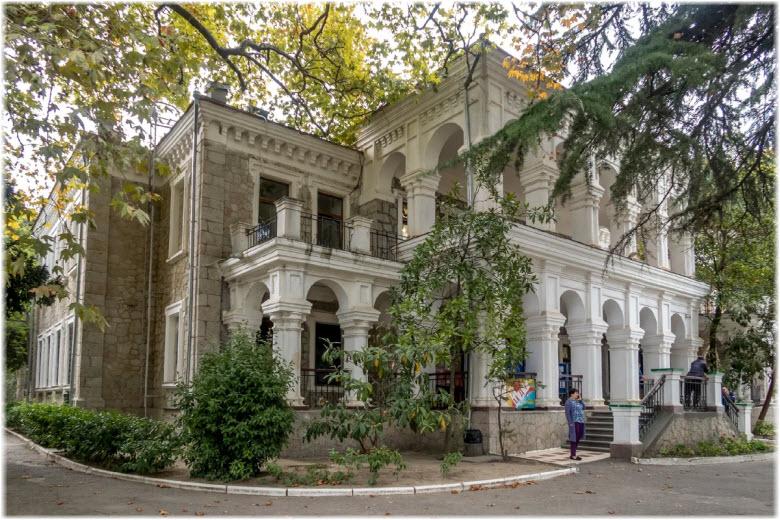 дом Стахеева в Алуште