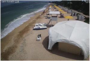 пляж отеля Рига