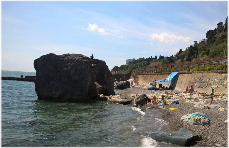 пляж у Черновских камней