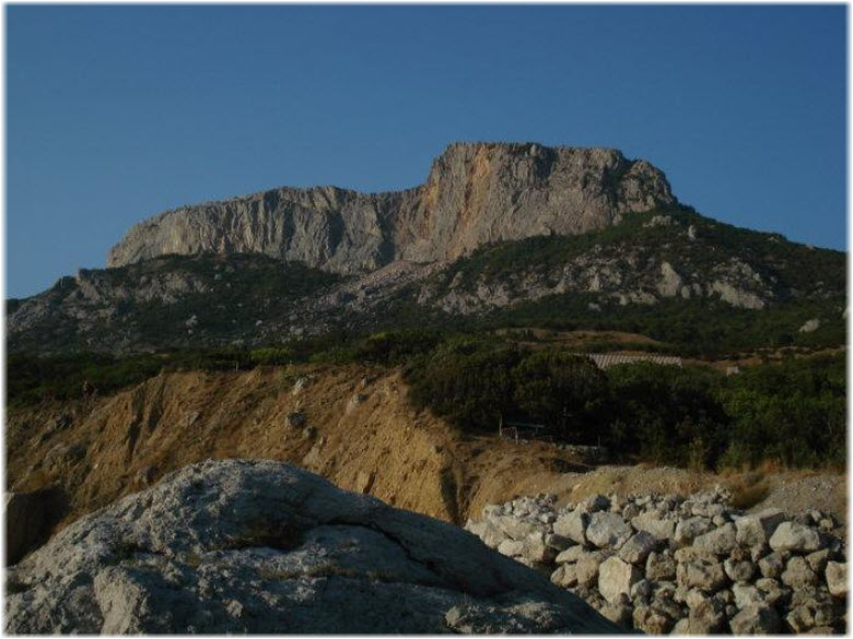 фото горы Деликли-Бурун