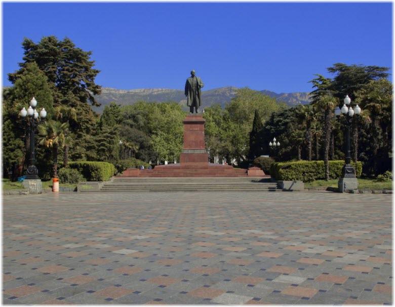 фото площади Ленина