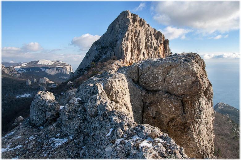 гора Деликли-Бурун