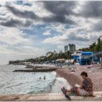 самое теплое место Крыма в октябре